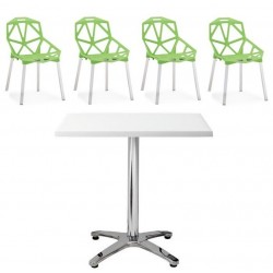 Pack ROCAM, mesa y 4 sillas...