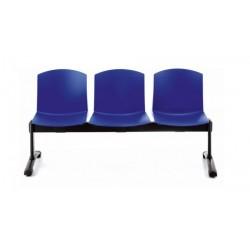 Bancada PULL, 3 asientos,...