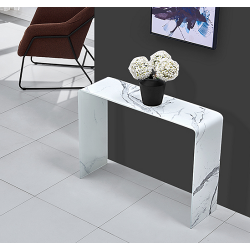 Consola MARBLE, cristal...