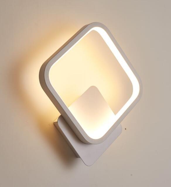 Lámpara DUMKE, aplique, blanco, led 24 w.