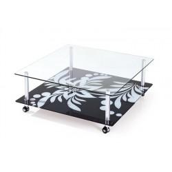 Mesa DURCAL, cristal, 100 x...