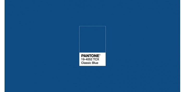 Classic Blue, el color Pantone del 2020